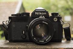 Nikon FM cleaned (Arne Kuilman) Tags: nikon nikonfm koningsdag cleaned seals operation schoon camera slr 1988 black zwart classic