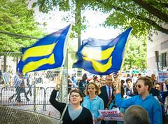 2017.05.03 #LicenseToDiscriminate Protest, Washington, DC USA 4442