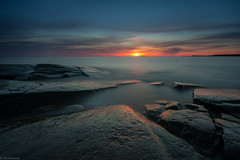 Sunset_ (JLindroos) Tags: sunset seascape rock horizon colorful long exposure filters lee big stopper canon zeiss finland pori jlindroos