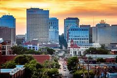 Main Street (Sky Noir) Tags: aerial photography above rva richmond va virginia cityscape urban sunset travel tourism visit