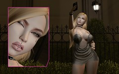 Loose selfie! (Subeira) Tags: loose kitty selfie second life 3d makeup face busty curvy