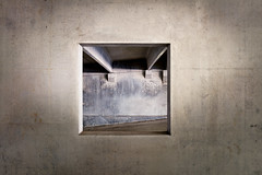 Framed (shutterclick3x) Tags: parking deck windows concrete abstract frankloose