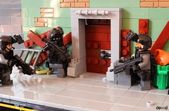Ready for breaking (Devid VII) Tags: military soldiers war lego moc details diorama troopers weapon scenes