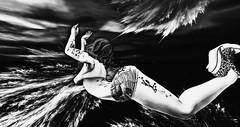 My inner storm (♡ evie ☮) Tags: secondlife bipolar low storm dark bento