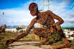 Skin the Sun (Thomas Hawk) Tags: america bayarea burningman california eastbay karencusolito oakland usa unitedstates unitedstatesofamerica westcoast sculpture fav10 fav25 fav50 fav100