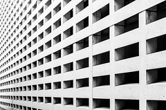 Motherboard (deborahb0cch1) Tags: monochrome pattern lines architecture geometric abstract building texture blackandwhite facade diagonal