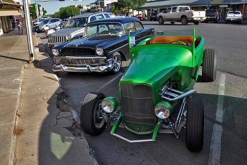 Fredericksburg - 1956 Chevy & 1932 Ford