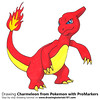 Charmeleon from Pokemon with ProMarkers [Speed Drawing] (drawingtutorials101.com) Tags: charmeleon lizardo flame pokemon anime manga promarkers promarker alcohol markers color coloring draw drawing drawings how timelapse video