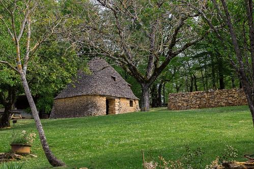 Les bories (2) - Cabanes du Breuil