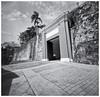 Puerta de San Juan (Black and White Fine Art) Tags: pinhole214x214 pinhole3mm niksilverefexpro2 lightroom3 camaraestenopeica estepono