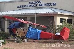 MCDONALD PIETENPOL NX22EZ (shanairpic) Tags: museum preserved boron saxonaerospacemuseum