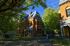 Dormitory of campus (T Ξ Ξ J Ξ) Tags: newzealand dunedin d750 nikkor teeje nikon2470mmf28 day dormitory campus house stay trees green otago university