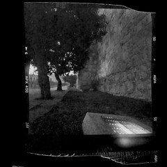 Jerusalem coffee can pinhole (anaguma shashin o toru) Tags: pinhole coffee can blackwhite stenope filmphotography jerusalem