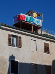 Laundry on the roof! (caltra2001) Tags: slovenia2017 piran slovenia laundry colour roof clothes