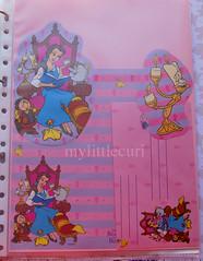 Bella y los objetos encantados. (mylittlecuri) Tags: beautyandthebeast la bella y bestia años 90 coleccionismo carta de olor perfumada