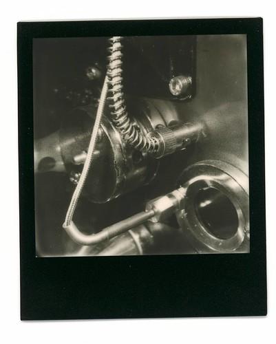 Toper. #Polaroid #slr680 #blackandwhite #blackandwhitefilm #signlesscafe #signless #meaninglessart #canton #citylife #city #life #impossible #廣州 #広州 #寶麗來 #無謂藝術 #無牌咖啡