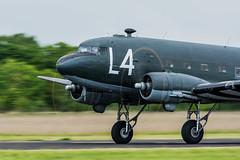 _DSC2612-31 (Ian. J. Winfield) Tags: airshow abingdon oxfordshire aviation aircraft aeroplane plane flight flying display ww2 wwii douglas dakota skytrain c47 dc3 c3 usaaf usaf usaac usac l4 dday