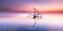 Mirror Mirror (rpo83) Tags: bali jakung karang sanur sunrise reflection boat