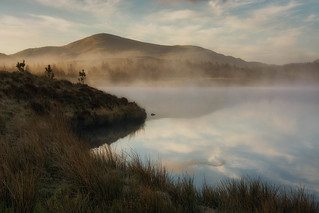 Sunrise at Loch na h-Aibhne Ruaidhe