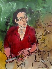 RAPPORTS ET ÉTATS QUI N'EXISTENT PAS (Claude Bolduc) Tags: painting art artsingulier outsiderart artbrut visionaryart intuitiveart lowbrow surrealism