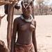 Himba young woman  near Opuwo