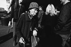 (edmondburnett) Tags: street streettogs bw trix kodak 400 nikonf3 pushed photography 24mm seattle pikeplacemarket