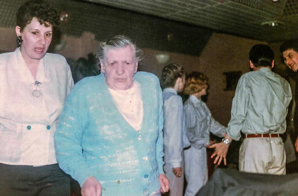 Mary Haughie (centre) 1990s