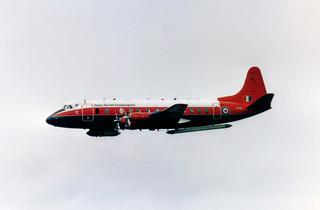 XT661 Vickers 838 Viscount cn 371 Royal Aircraft Establishment RAF Cottesmore 17Jun85 a