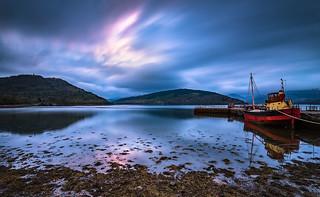 Sunrise@Loch Fyne