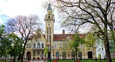 Nyirbator Rathaus (wernerfunk) Tags: ungarn