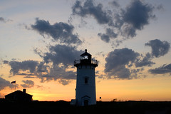 Race Point at sunset (chili5558) Tags: d800 nikon28mmf2ai lighthouse capecod provincetown hank sunset