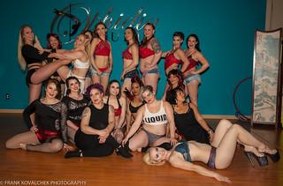 Post-show group shot