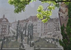 entspannter Blick (nirak68) Tags: 138365 bayrichesviertel schöneberg 2017ckarinslinsede hauswand kunst wandmalerei rosenheimerstrase stadt art painting berlinschöneberg deutschland ger