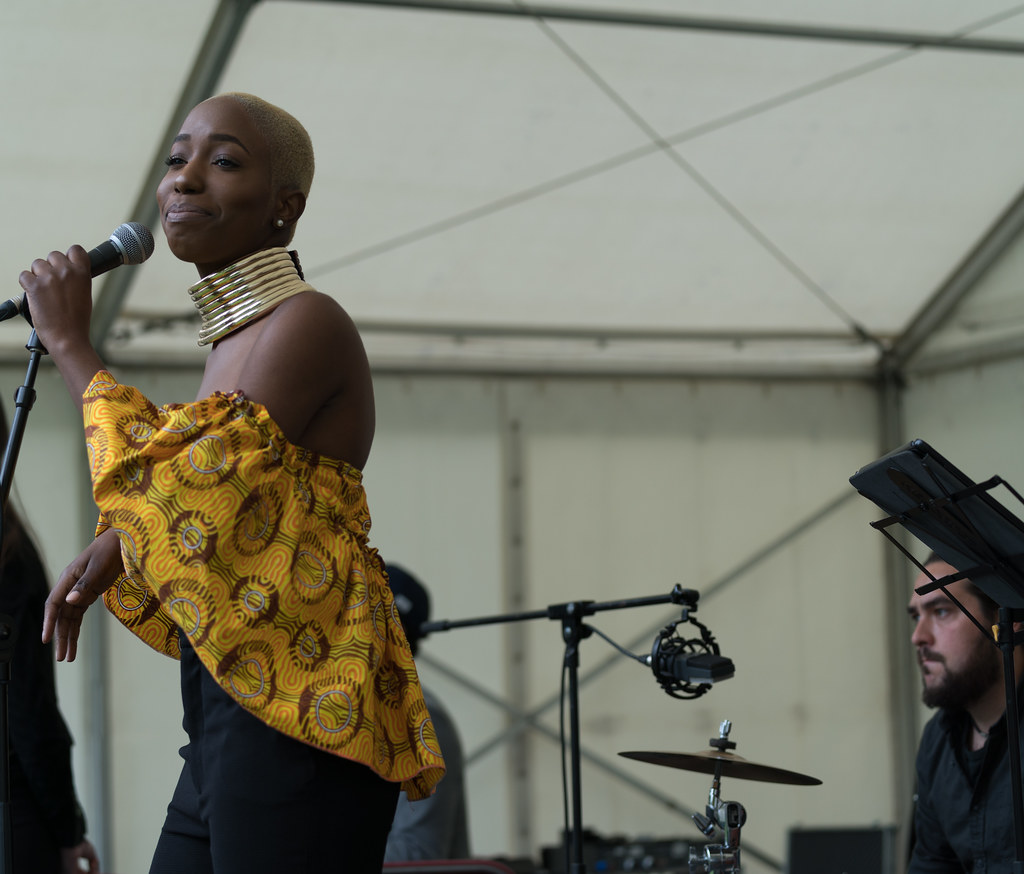 NC GREY IS A SOUL SINGER SONGWRITER [SHE PERFORMED AGAIN AT AFRICA DAY IN DUBLIN]-128600