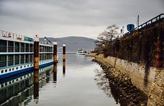 Reflections. (ost_jean) Tags: landscape reflections water sea zee lamer boat ship nikon d5200 170500 mm f28 ostjean