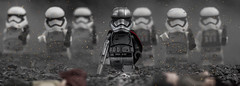 Captain Phasma (Lego_LUTs) Tags: green yellow blue storm trooper star wars war lego outdoors clone troopers first order blasters afol minifigs minifigures bricks blocks canon toy toys force legos t3i republic people photoadd atst death rogue one dirt practical effects orange arc