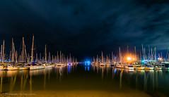 Wynnum/Manly Marina (Photography By Tara Gowen) Tags: manlymarina yachts blue longexposure nikon nikond5300 tokina1116mm taragowen photographybytaragowen qld boats lowtide lights
