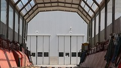 Stadler Altenrhein - Waggontransporter (Kecko) Tags: 2017 kecko switzerland swiss suisse svizzera schweiz ostschweiz sg staad stgallen altenrhein europe stadler rail group transport vehicle fahrzeug manufacture fabrikation industry industrie bahn zug eisenbahn railway railroad technique technik technics technology technisch waggontransporter scheuerle mwek80 swissvideo video geotagged geo:lat=47489290 geo:lon=9546180