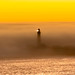 Foggy Sunset Over Pigeon Point Lighthouse (Neo Zaw) Tags: lighthouse sunset