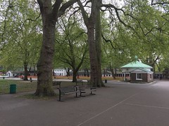 Coram's Field (Matt From London) Tags: coram bandstand trees