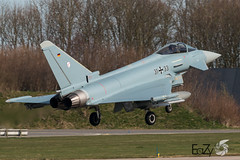 31+33 German Air Force (Luftwaffe) Eurofighter Typhoon (EaZyBnA) Tags: 3133 germanairforce luftwaffe eurofightertyphoon ef2000 ef100400 ef100400mmf4556lisiiusm eazy frisianflag eurofighter germany bundeswehr taktlwg31 boelke nörvenich ngc autofocus airforce aviation warbirds netherlands holland leeuwarden vliegbasisleeuwarden vliegbasis canon eos70d canoneos70d