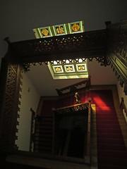 Andrássy chaeau (aniko e) Tags: andrássykastély andrássy hungary magyarország tiszadob staircase wodden stainedwindows andrássydecsíkszentkirályetkrasznahorka museum kastély