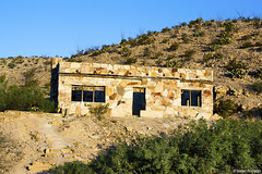 Hot Springs Historic Area (isaac.borrego) Tags: uploadedviaflickrqcom morning buildings mountains desert history hotsprings bigbend nationalpark texas canonrebelt4i unitedstates america usa