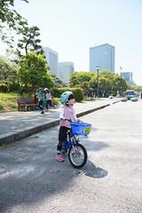 2017-04-30-10h23m58 (LittleBunny Chiu) Tags: 皇居外苑 腳踏車 騎腳踏車 日本 東京 日本旅行 去日本旅行 東京台場 台場 人工沙灘 御台場海濱公園