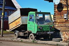 Multicar M25  М 869 ВУ 45 (RUS) (zauralec) Tags: kurgan chernyakhovskystreet город курган улица проспект автомобиль грузовик multicar m25 м 869 ву 45 rus