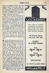 Weird Tales 14 (kevin63) Tags: lightner internetarchive magazine pulp fiction horror sciencefiction fantasy 1930s 30s thirties robertehoward hplovecraft clarkastonsmith