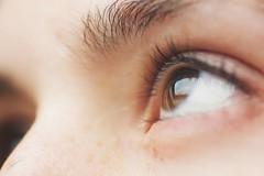 Dreaming about flying (Jorgepevet) Tags: macromondays eye ojo ella face macro 90mm sky dreaming dream clouds