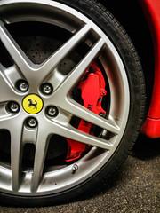 Ferrari F430 (idk_photo) Tags: ferrari f430 caliper