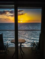 balcony (skram1v) Tags: sunset caribbean cruise balcony nov2016 western
