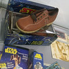 Vintage Star Wars collectables – Galaxy in the Gallery, Nuneaton Museum & Art Gallery (eyeSPIVE) Tags: galaxyinthegallery starwars museum artgallery display collection nuneaton warwickshire clarks letraset topps cliro lyonsmaid